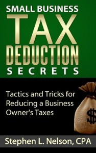 Picture of Small Business Tax Deduction Secrets ebook
