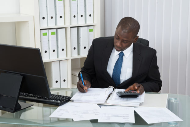 Picture of someone who has chosen a career in accounting
