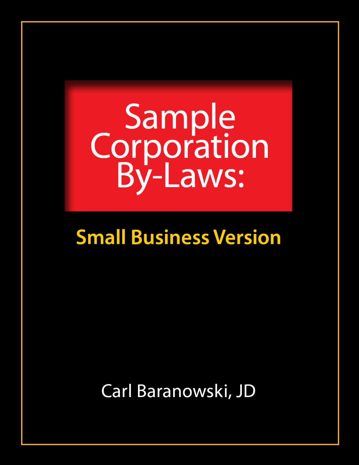 Sample Corporate Bylaws Evergreen Small Business - Simple corporate bylaws template