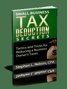 Small Business Tax Deduction Secrets