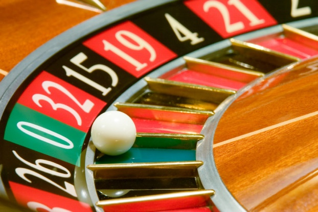 Picure of roulette wheel.