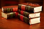 Picture of law books
