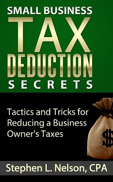 Picture of cover of Small business tax deductions ebook