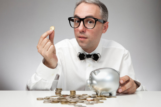 Picture of an CPA counting coins
