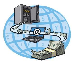 deposit via computer