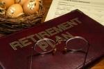 Picture of retirement plan binder