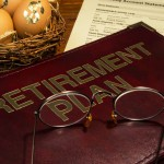 Picture of retirement plan binder