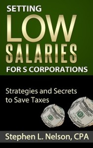cover of setting low s corporations salaries ebook