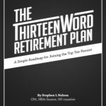 Picture of Thirteen Word Retirement Plan book