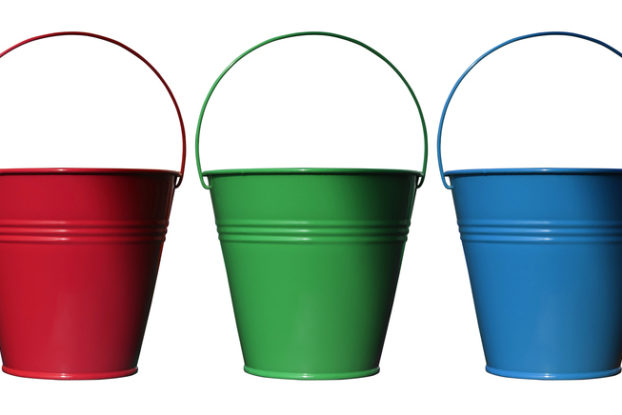 Picture of income tax buckets