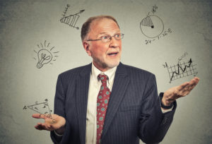 picture of professor possibly talking about small business net present value calculations