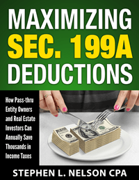 Cover of Maximizing Section 199A Deductions ebook