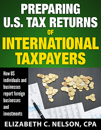 Cover image of Preparing U.S. Tax Returns for International Taxpayers.