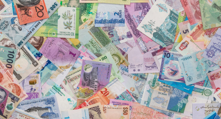 currency from various countries